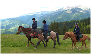 Romania Active Vacations - Horseback Riding