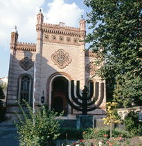 Bucharest - Synagogue, Choral Temple