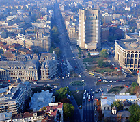 Bucharest - Universitatii Square, Intercontinental Hotel