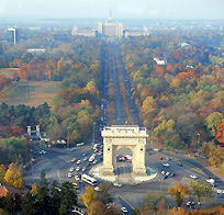 Bucharest - The Arch of Triumph