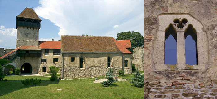 Calnic Fortified Church - ( UNESCO World Heritage Site )