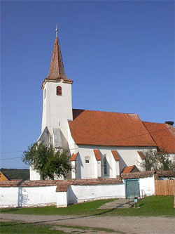 Calnic Fortified Church Transylvaia Romania