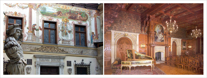 Castles and Fortresses of Romania: Sinaia, Peles Castle