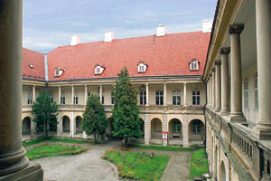 Cluj - Banffy palace - Museum of Art