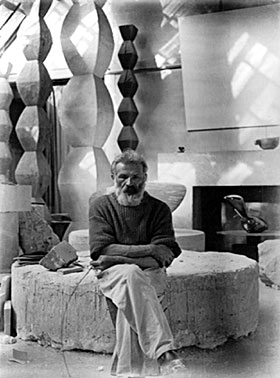 Constantin Brancusi Workshop in Paris