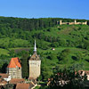 SASCHIZ FORTIFIED CHURCH, TRANSYLVANIA - IMAGE