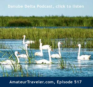Danube Delta Travel Podcast