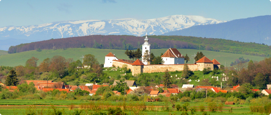 The Fortified Monastery in Ilieni