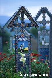 Sapanta, Romania - The Merry Cemetery in Maramures, Romania