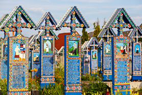 Sapanta - The Merry Cemetery in Maramures, Northern Romania