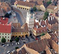 Sibiu - Vista aérea