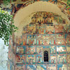 Arbore Painted Monastery Image