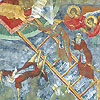The Painted Monasteries of Bucovina and Moldova, Northern Romania - Frescoe Detail at Sucevita Monastery