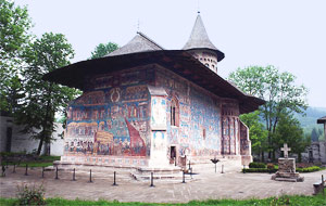 Voronet Monastery - The Painted Monasteries of Bucovina, Northern Romania