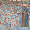 Sucevita Painted Monastery Frescoe Detail Image