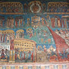 Voronet Painted Monastery Frescoe Detail Image