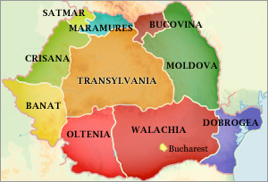romania s regions and cities travel and tourism information