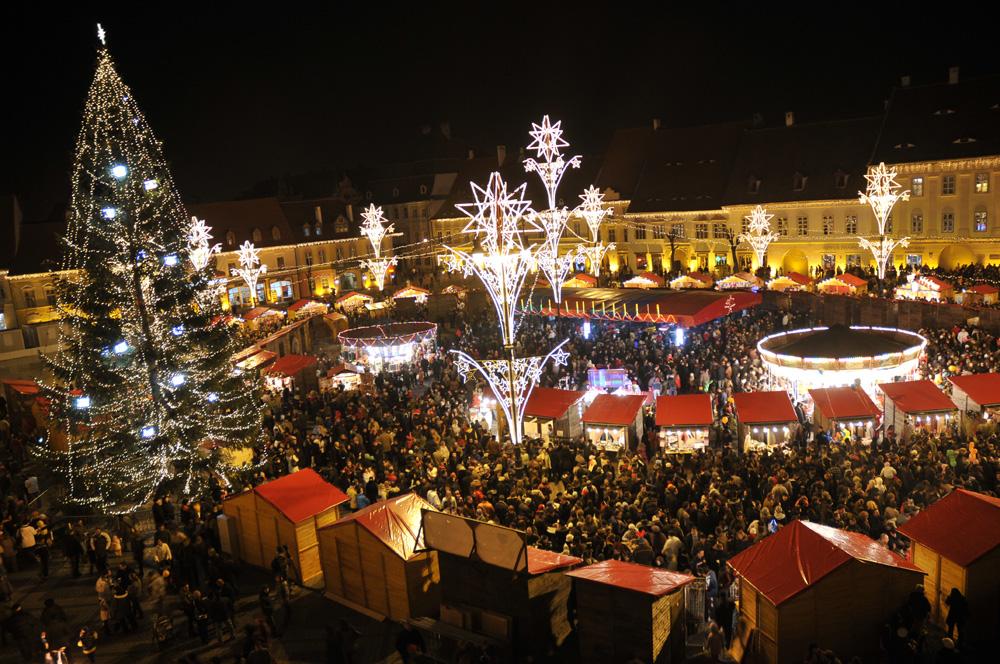 Sibiu Christmas Market 2011