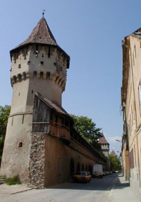 Sibiu - Towers - Carpenters' Tower - Turnul Dulgherilor