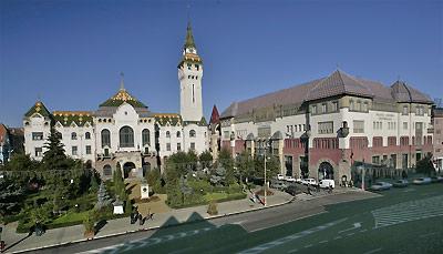 Targu Mures - Palacio de la Cultura