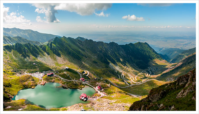 Scenic Drives Romania Transfagarasan