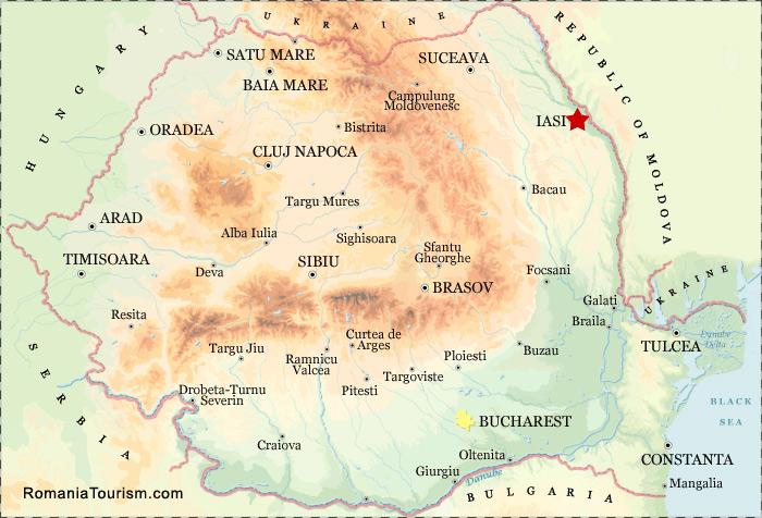 Iasi ROMANIA Iasi City Map Harta Orasului Iasi