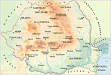 Romania Maps Travel And Tourism Information Harta Romaniei